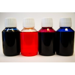 Encre liquide universelle pour imprimantes set de 4 bouteilles