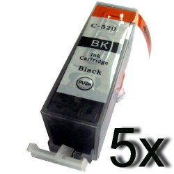 Canon PGI 520 (lot de 10 cartouches noires) compatible