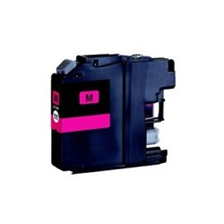 Brother LC125 magenta compatible