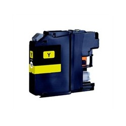 Brother LC125 jaune compatible