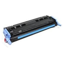 Pour HP Q6001A (124A) Cyan