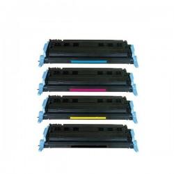 Pack pour HP Q6000A à Q6003 (124A)