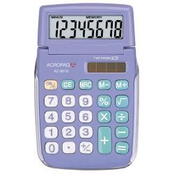 Calculatrice de poche ACROPAQ AC-901 Bleu