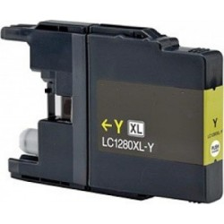 Brother LC1240 jaune compatible