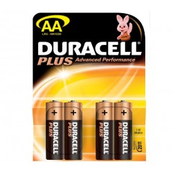 DURACELL 1500PLUS LR6 1.5V/4 AA