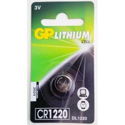 GP CR1220 LITHIUM 3V
