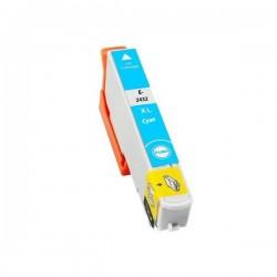 Epson T24 XL compatible cyan