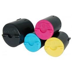 Pack toners compatibles samsung clp300 BKCMY