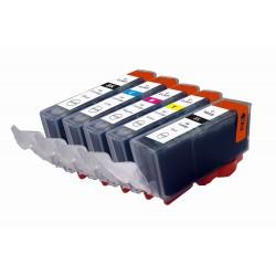 Pack canon PGI520 / CLI521 compatible
