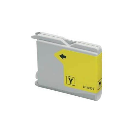 COMPATIBLE BROTHER LC1000 / LC970 JAUNE