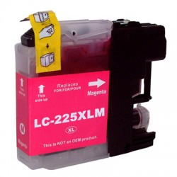 COMPATIBLE BROTHER LC225XL MAGENTA