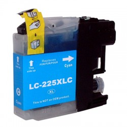 Compatible Brother LC225xl cyan