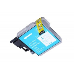 BROTHER LC980 / 1100 CYAN COMPATIBLE