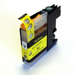Brother LC223 jaune compatible