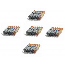 5 PACK CANON PGI525 / CLI526