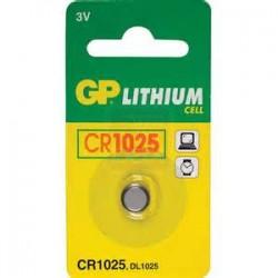 GP CR1025 LITHIUM 3V