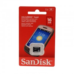 SANDISK Micro SDHC 16GO class4