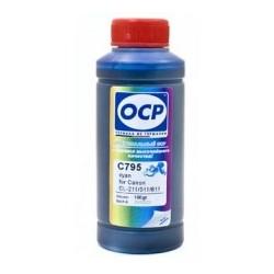 Encre OCP 795 Cyan Pigmentée pour CANON