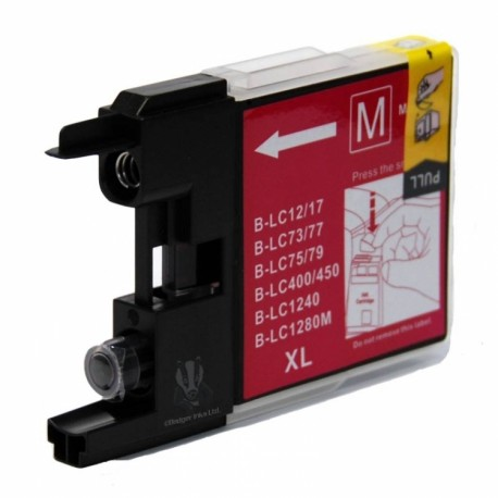 Brother LC1240 magenta compatible