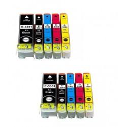 Duopack Epson T33 XL compatible