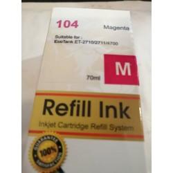 Eco tank compatible epson 104 magenta