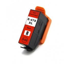 Epson T478XL compatible rouge