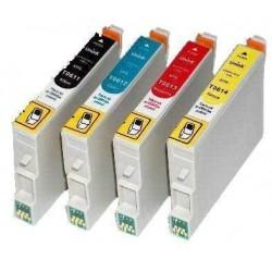 Pack T0615 epson compatible + 1 BK gratuite